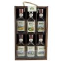 Staropolska Wodka Regionalna Coffret 6 mignonettes sur étagère