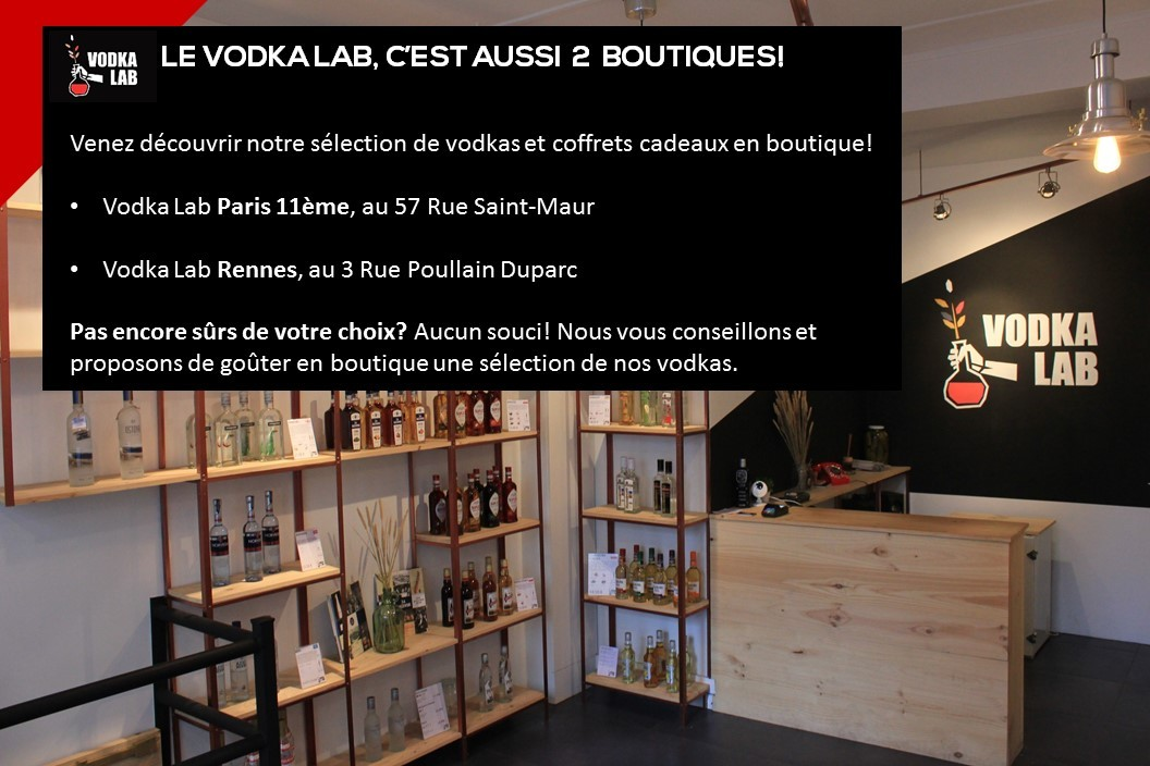 Catalogue Vodkas